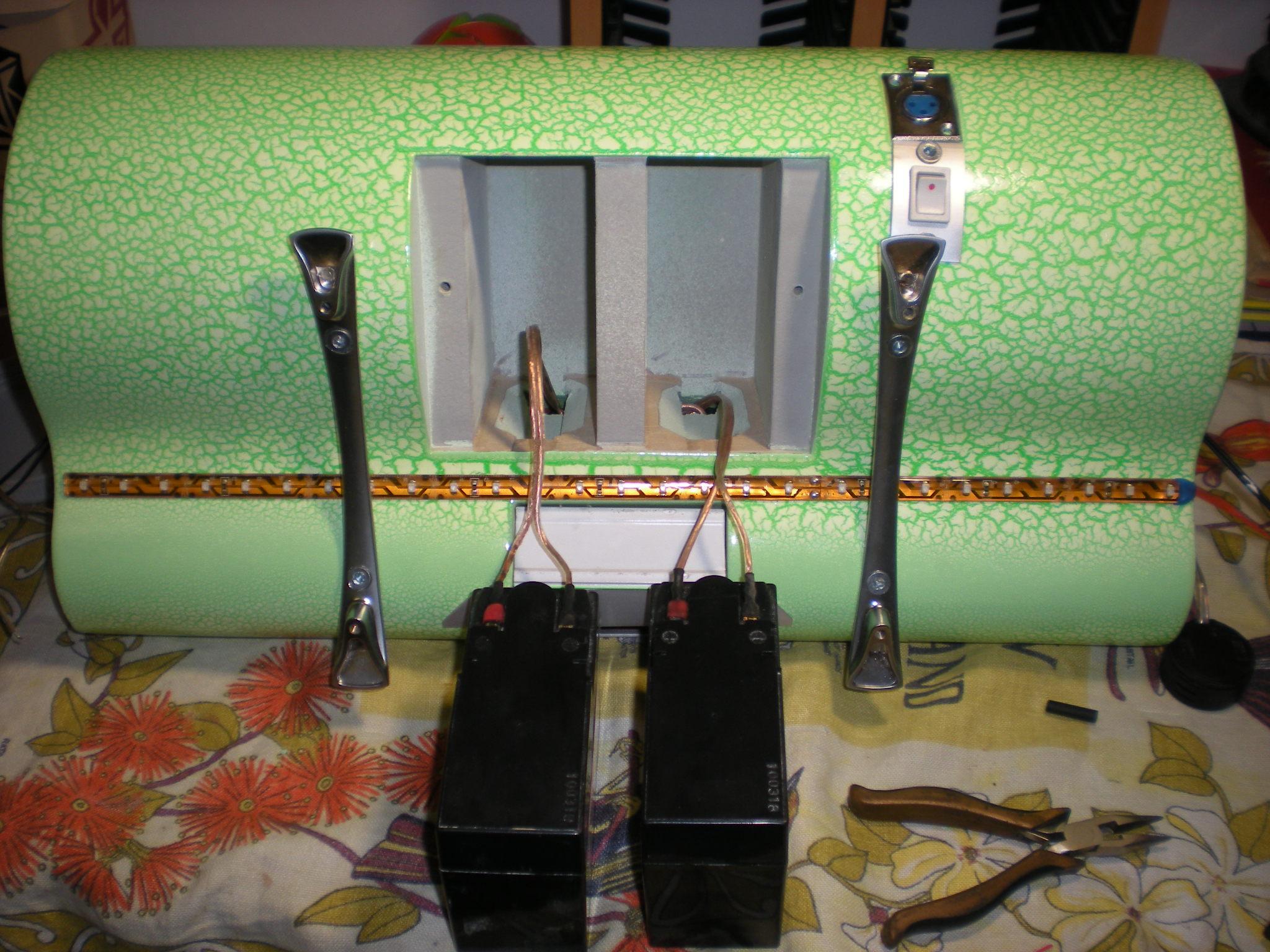 Колонки своими руками на аккумуляторе