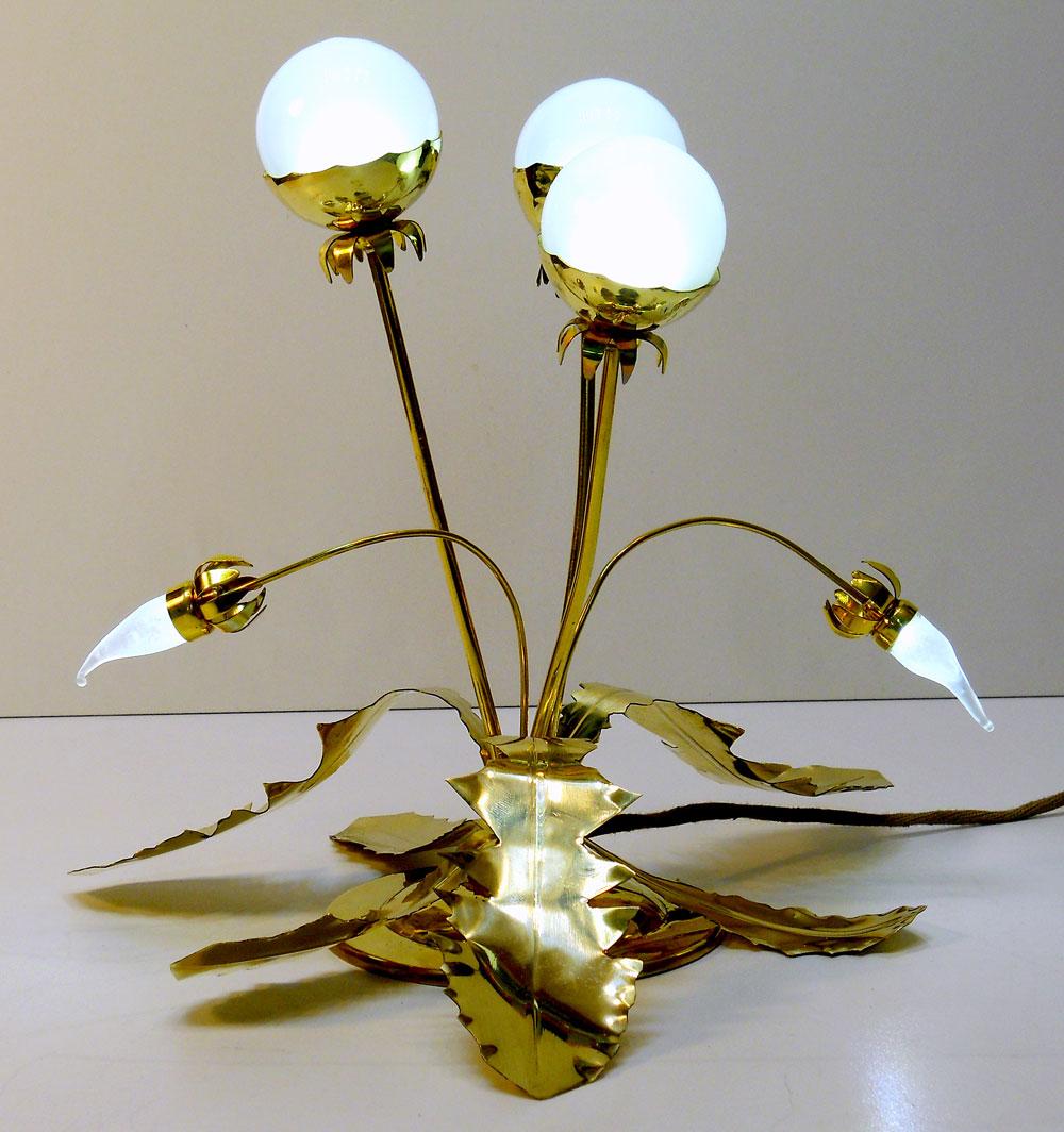 Цветы светильники в интерьере фото