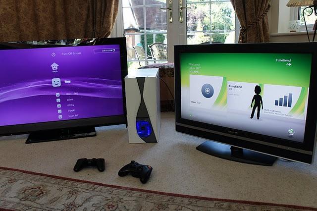 PS3 и Xbox360 в ПК кейсе - Новости моддинга