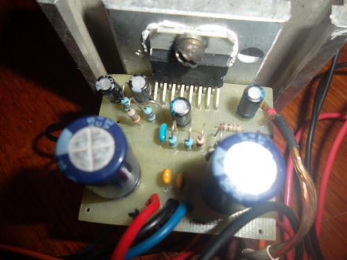 Четырех канальный усилитель на TDA7384 и низкочастотный усилитель на TDA7384 с проедварительным усилителем на.