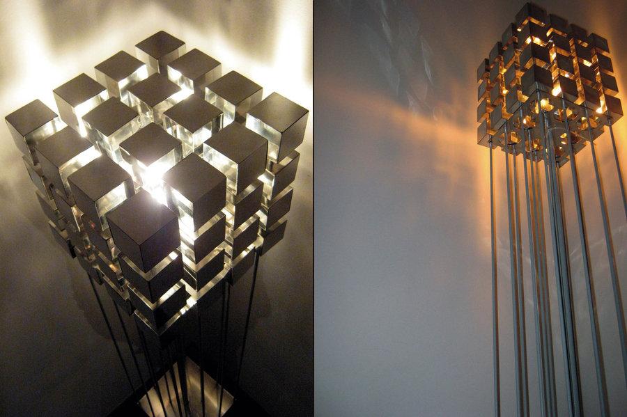 Как сделать светильник из фото