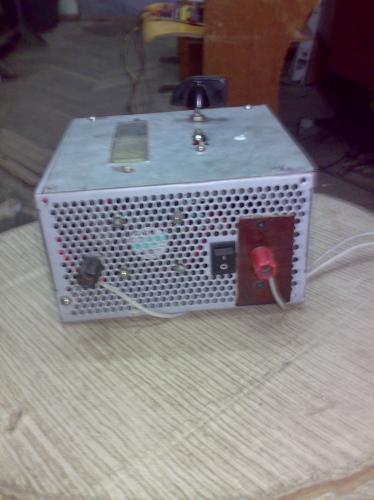 Вчера увидел как один из вас сделал из корпуса БП ПК зарядное устройство.