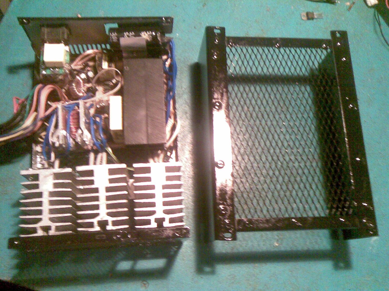 Радиатор для блока питания своими руками 83