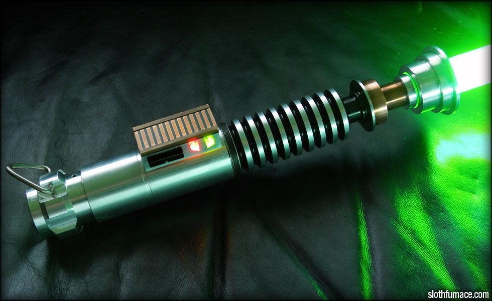 Самодельный световой меч