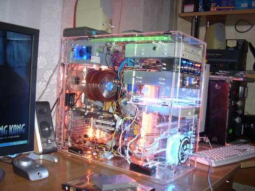 Как сделать компьютер с подсветкой 108