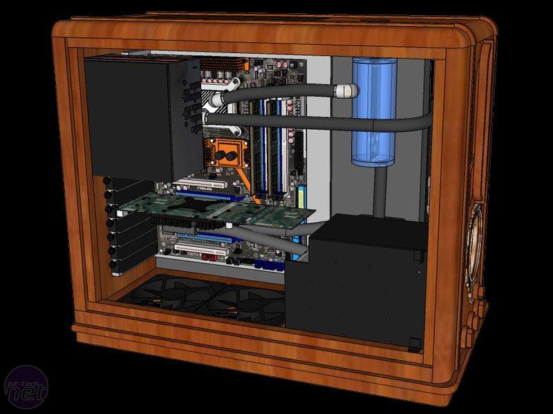 Компьютерный корпус своими руками чертежи 87
