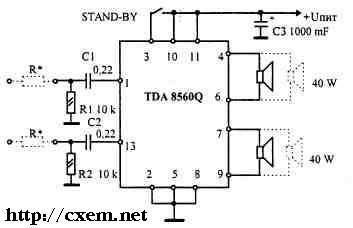 Cd 6 f 11 микросхема схема подключения 469