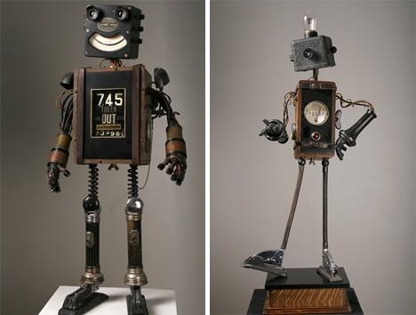 самодельных роботов.