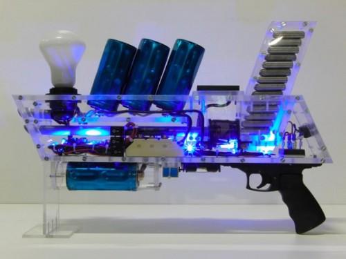 то игрушечным пистолет не