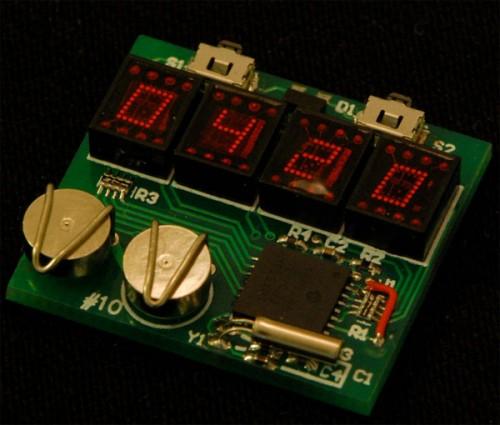 Как сделать электронные наручные часы