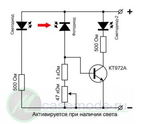 Схема радиоприёмника (Транзистор это просто 40) .