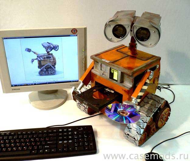 Das Wall-E Computergehäuse