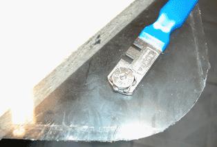 Как фигурно вырезать стекло в домашних условиях 35