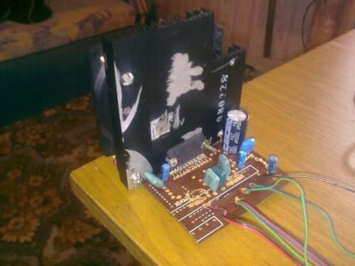 Усилитель будет построен на базе микросхемы TDA 7386 (TDA.